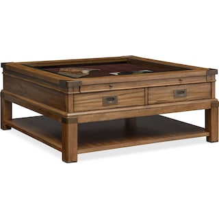 Explorer Cocktail Table - Chestnut