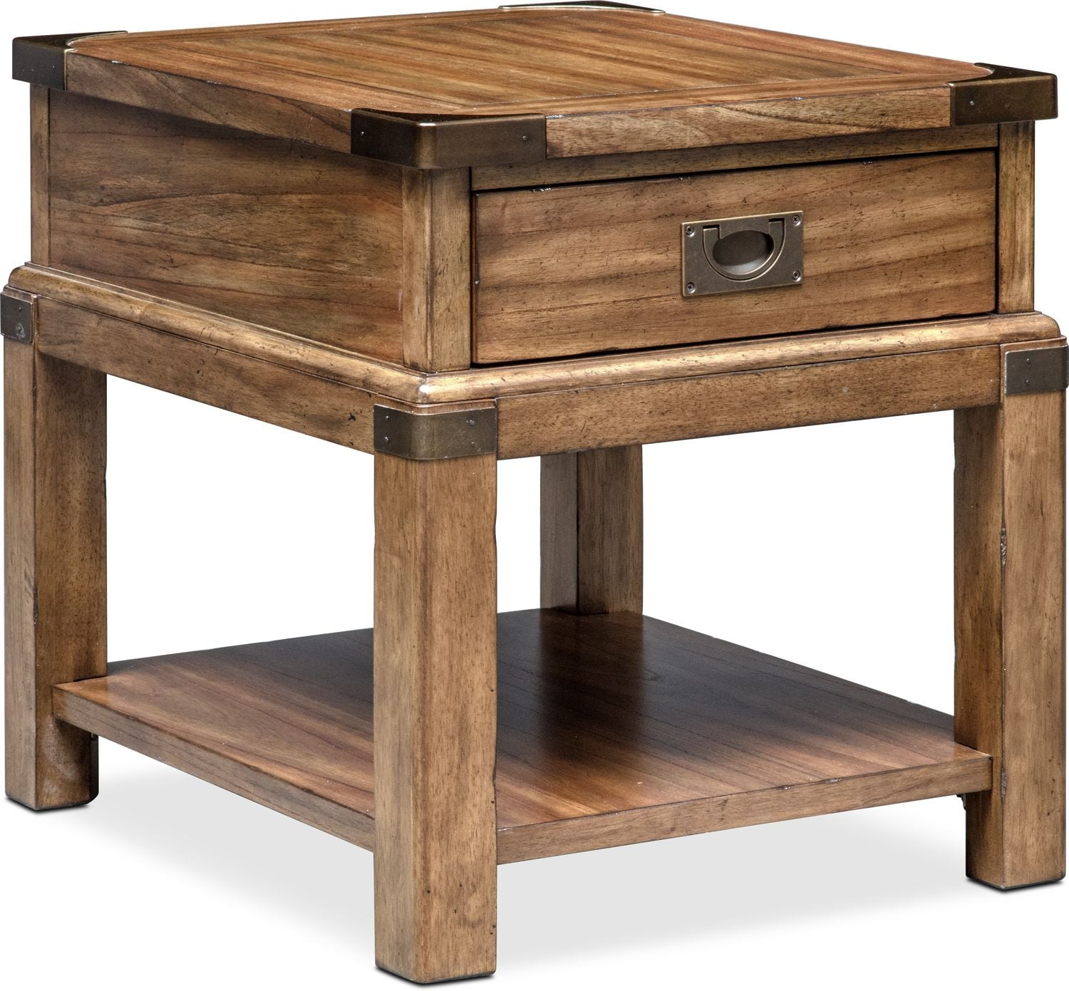 Accent And Occasional Furniture   Explorer End Table   Chestnut
