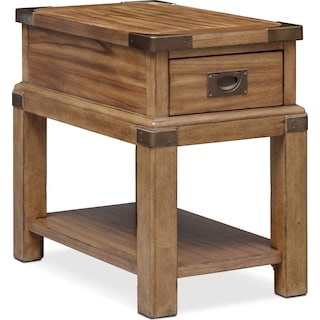 Explorer Chairside Table - Chestnut