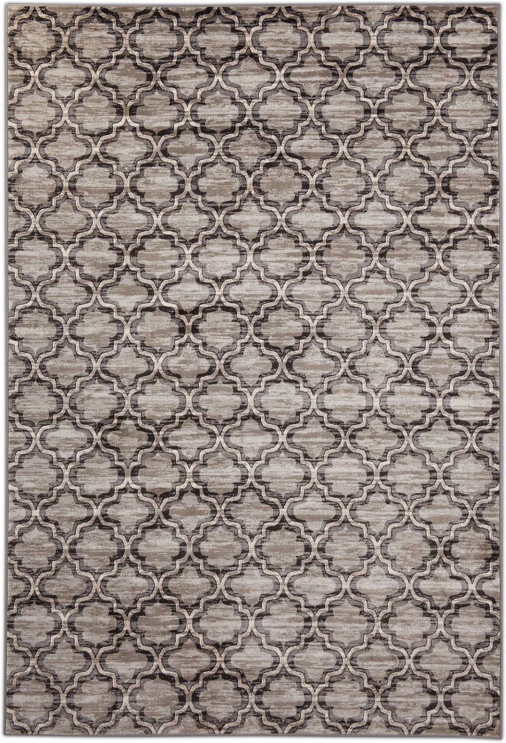 Rugs - Sonoma Area Rug - Gray and Black