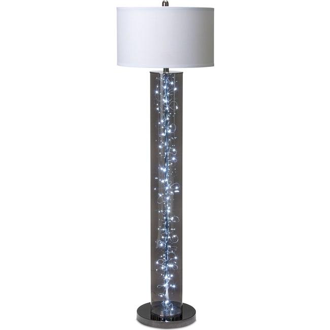 twinkle floor lamp | value city furniture