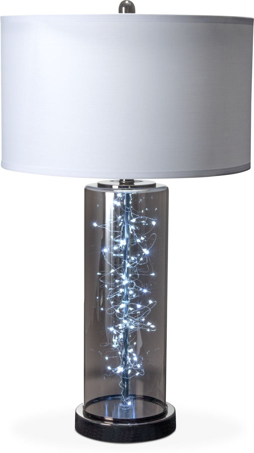 Tap to change twinkle table lamp