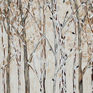 Winter Walk Framed Painting