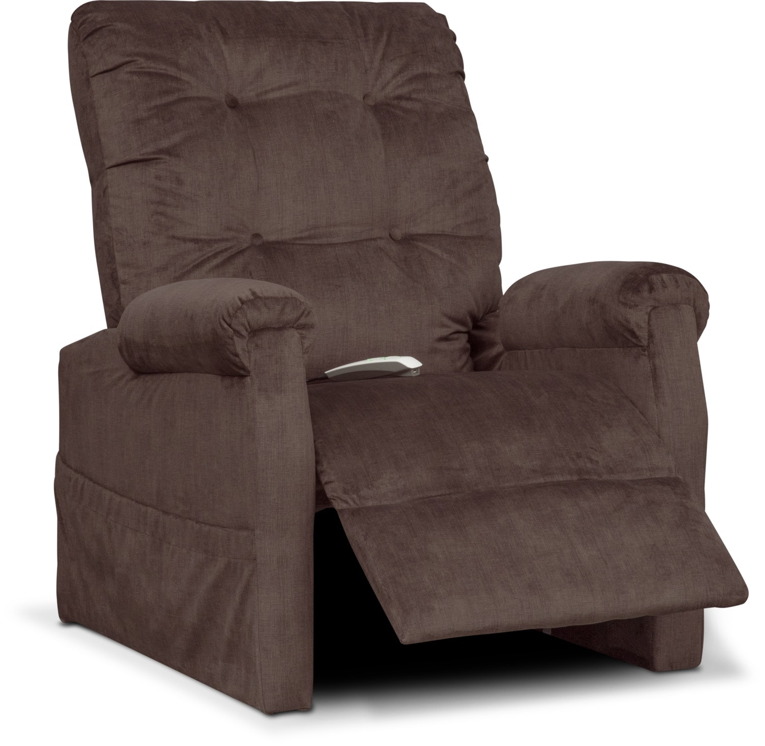 Brody Power Lift Recliner Chocolate