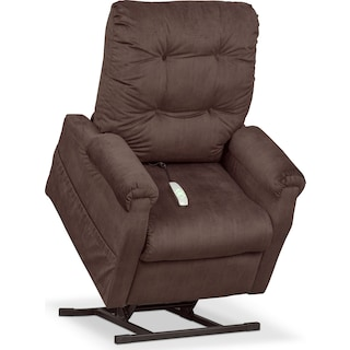 Brody Power Lift Recliner - Chocolate