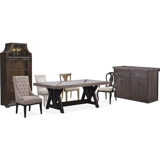 The Lancaster Farmhouse Dining Collection