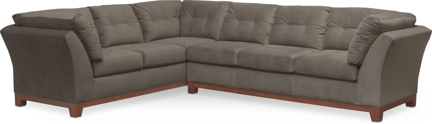 The Sebring Sectional Collection   Gray