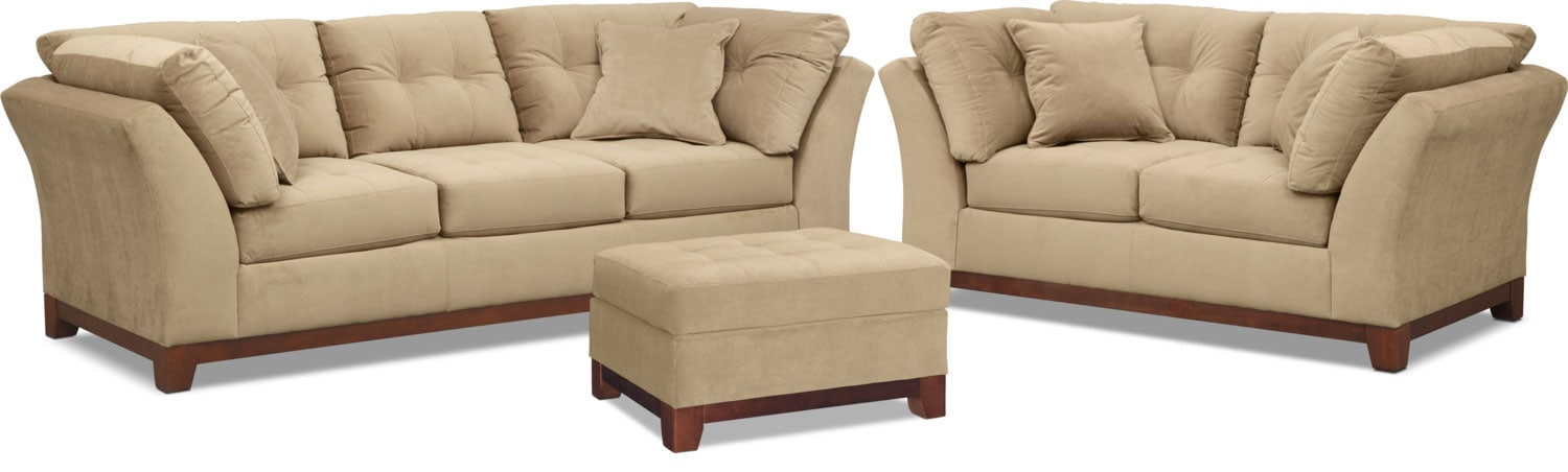 The Sebring Living Room Collection - Cocoa