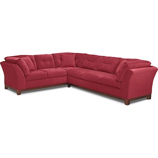 The Sebring Sectional Collection - Poppy
