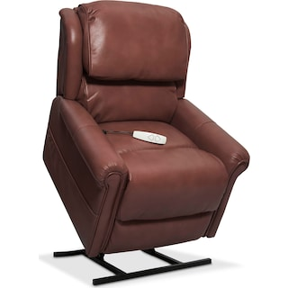 Grace Power Lift Recliner - Brown