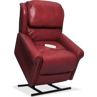 Grace Power Lift Recliner - Red