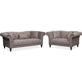 Marisol Sofa and Loveseat Set