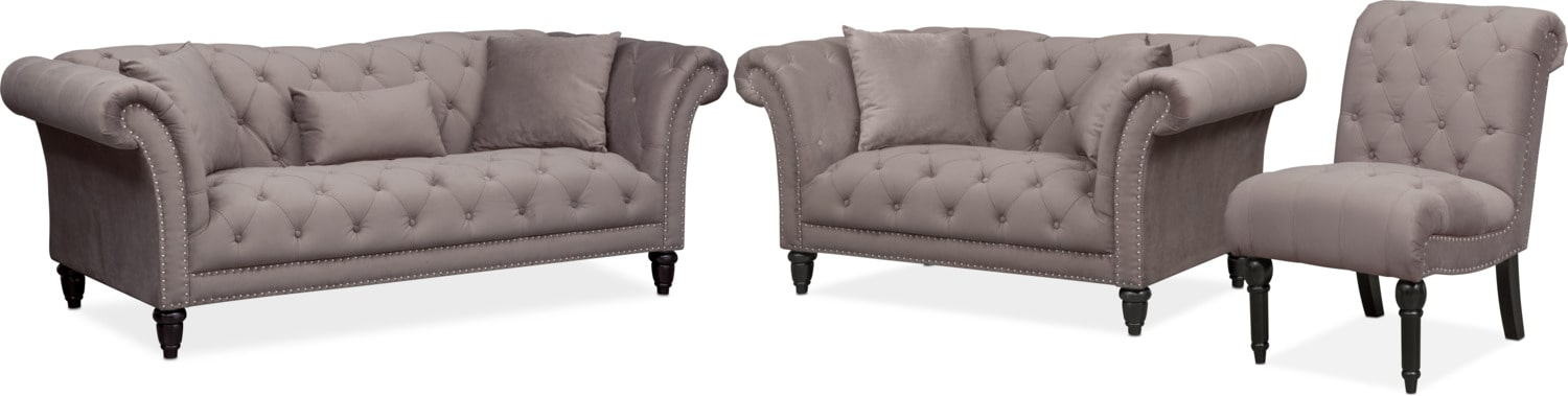 Marisol Sofa Loveseat And Chair