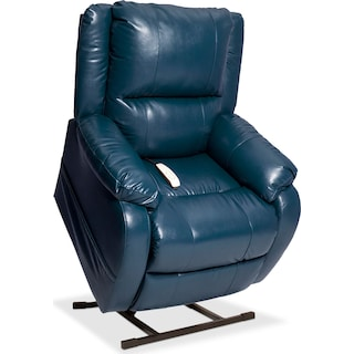 Dudley Power Lift Recliner - Blue