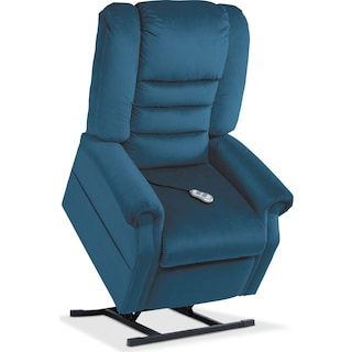 Ava Power Lift Recliner - Blue