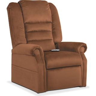Ava Power Lift Recliner - Brown