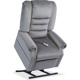 Ava Power Lift Recliner - Charcoal