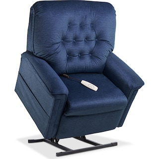 Jose Power Lift Recliner - Blue