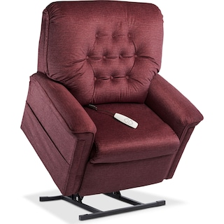 Jose Power Lift Recliner - Bordeaux