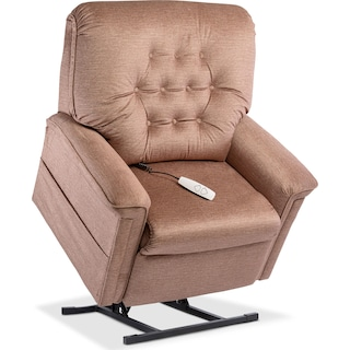 Jose Power Lift Recliner - Tan