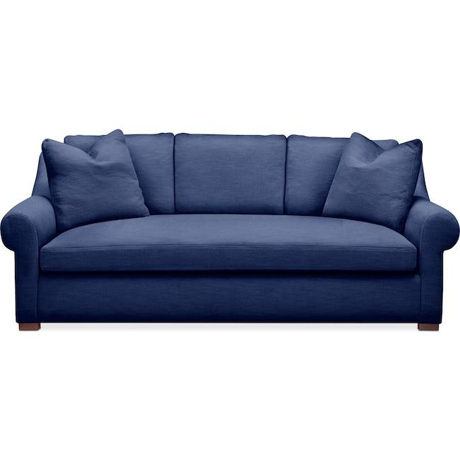Living Room Furniture - Asher Sofa- Cumulus in Abington TW Indigo