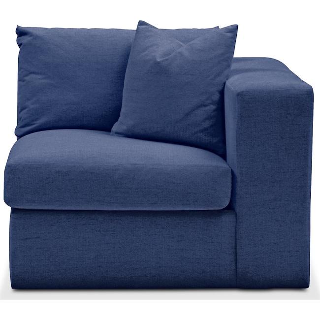 Living Room Furniture - Collin Right Arm Facing Chair- Cumulus in Abington TW Indigo