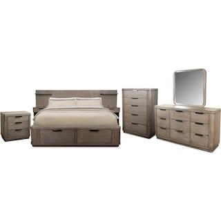 The Malibu Bedroom Collection
