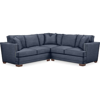 Arden 2 Pc. Sectional with Right Arm Facing Loveseat- Cumulus in Curious Eclipse