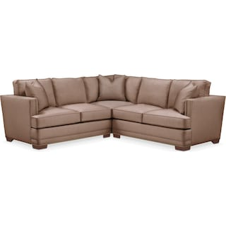 Arden 2 Pc. Sectional with Right Arm Facing Loveseat- Cumulus in Abington TW Antler