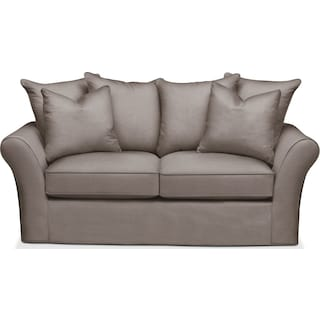 Allison Apartment Sofa- Cumulus in Oakley III Granite