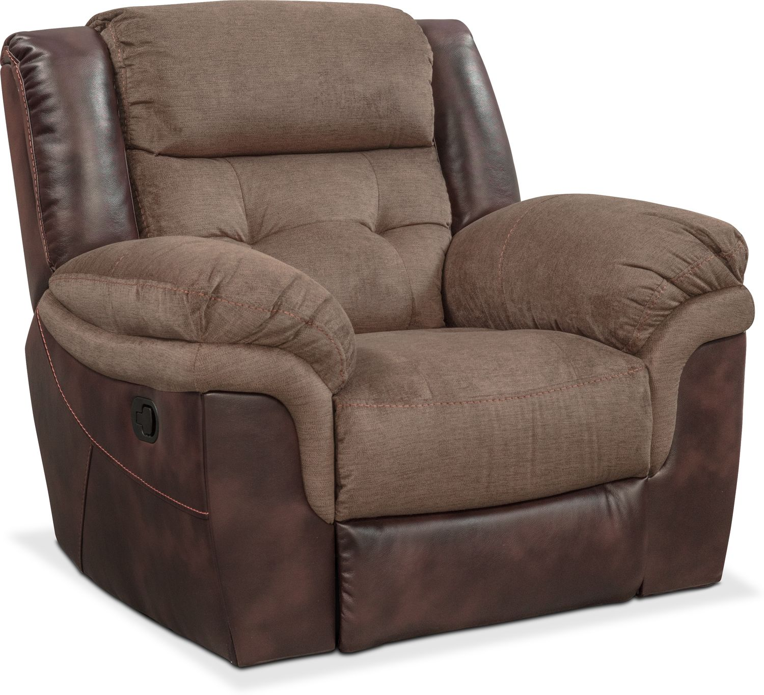 Tacoma Manual Reclining Sofa Loveseat And Glider Recliner