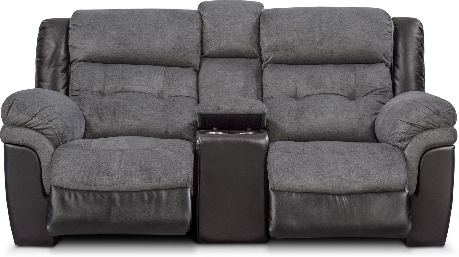 Tacoma Dual Power Reclining Loveseat With Console Value