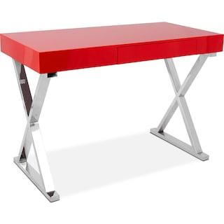 Brixton Desk - Red