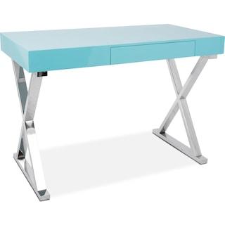 Brixton Desk - Light Blue