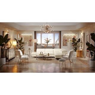 The Torino Collection - White
