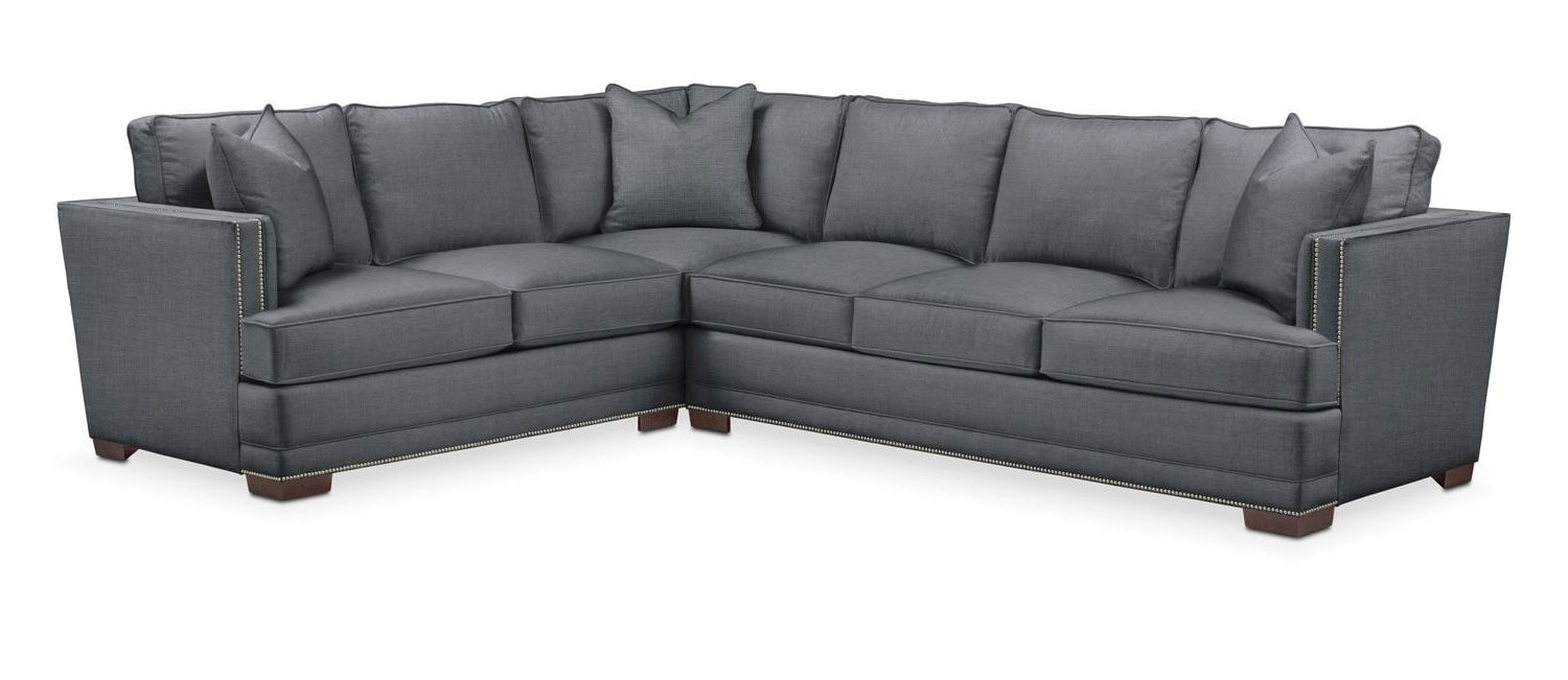 Arden 2 Pc Sectional With Right Arm Facing Sofa Cumulus