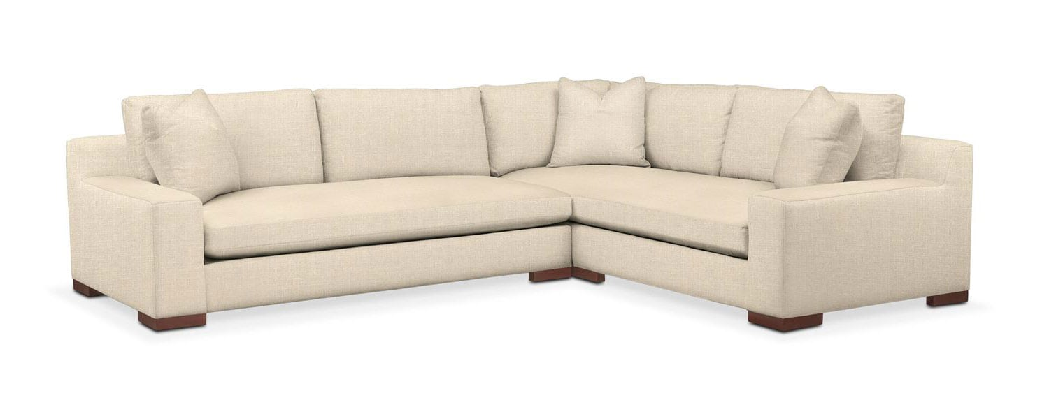 Ethan 2 Pc. Sectional with Left Arm Facing Sofa- Cumulus in Anders Cloud  sc 1 st  Value City Furniture : vcf sectional - Sectionals, Sofas & Couches