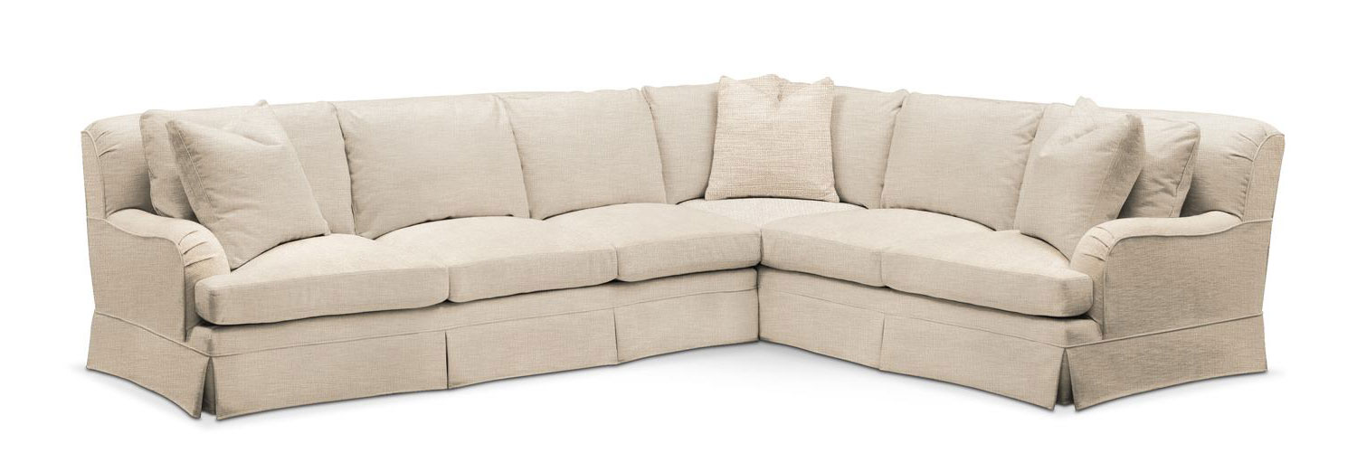 Incroyable Living Room Furniture   Campbell 2 Piece Sectional With Left Facing Sofa    Cumulus