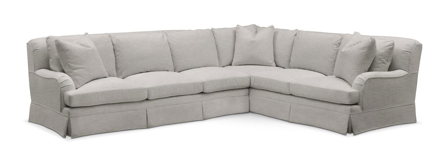 Living Room Furniture - Campbell 2-Piece Large Sectional