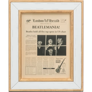 Beatlemania Framed Print