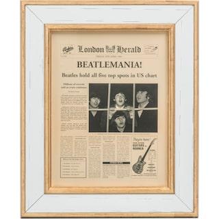 Beatlemania Framed Print