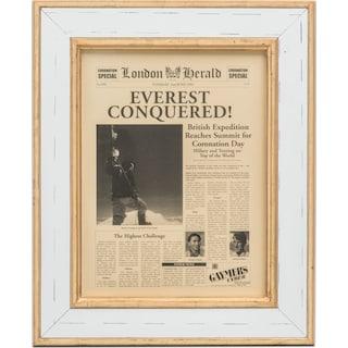 Everest Conquered Framed Print