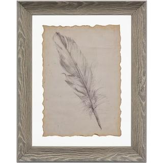 Feather Framed Print II