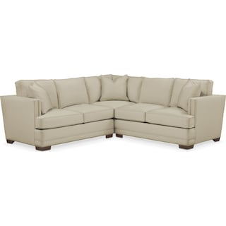 Arden 2 Pc. Sectional with Left Arm Facing Loveseat- Cumulus in Abington TW Barley