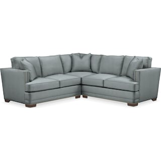 Arden 2 Pc. Sectional with Left Arm Facing Loveseat- Cumulus in Abington TW Seven Seas