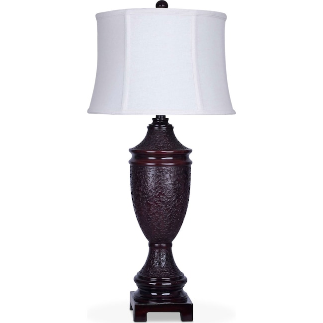 Home Accessories - Brown Urn Table Lamp