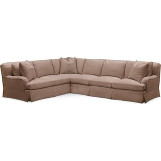 Campbell 2 Pc. Sectional with Right Arm Facing Sofa- Cumulus in Abington TW Antler