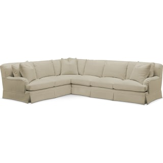 Campbell 2 Pc. Sectional with Right Arm Facing Sofa- Cumulus in Abington TW Barley