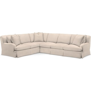 Campbell 2 Pc. Sectional with Right Arm Facing Sofa- Cumulus in Dudley Buff