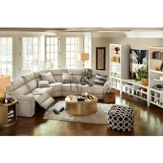 Catalina 5-Piece Dual-Power Reclining Sectional with 2 Reclining Seats